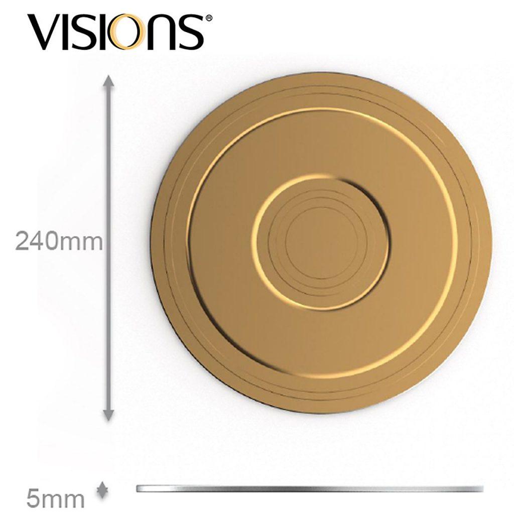 đĩa bếp từ visions